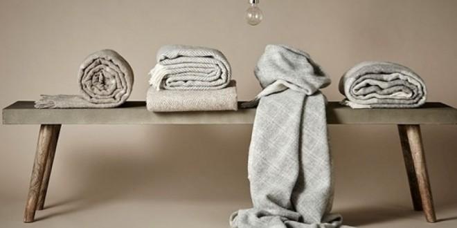 Lækre og moderne tæpper fra Silkeborg Uldspinderi