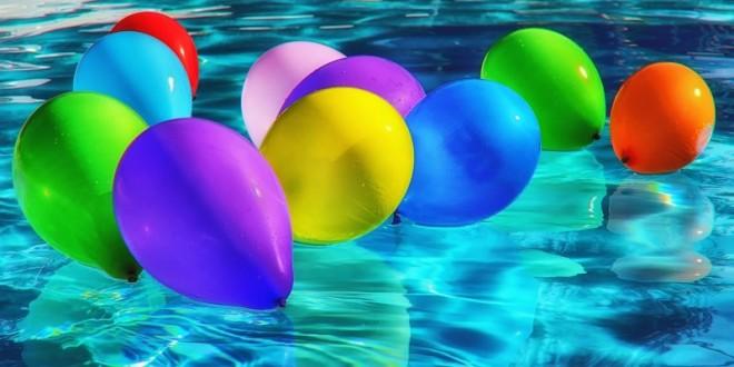 Send nogle heliumballoner
